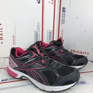 Reebok Womens Pink Running Shoes 4080902 Size 8